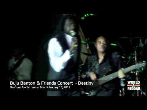 Buju Banton & Friends Concert - Intro + Destiny