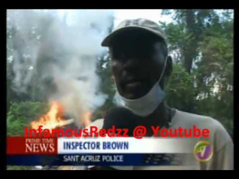 TVJ - 1,000 LBS OF MARIJUANA DESTROYED IN ST ELIZABETH {JAMAICA}