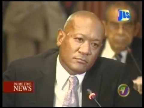 TVJ - FORMER JUNIOR MINISTER CLAIMS HE DIDN'T KNOW HE WAS WORKING FOR JLP {JAMAICA}