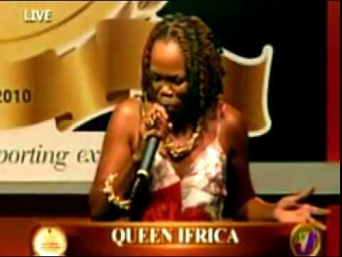 QUEEN IFRIKA LIVE IN JAMAICA - HEROES - 2011
