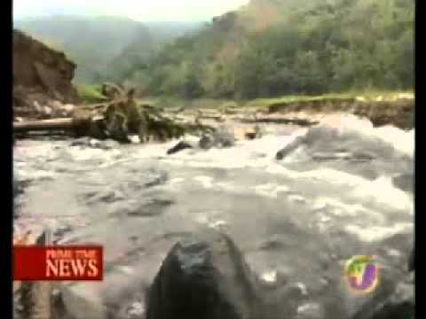 TVJ NEWS - WATER RESTRICTIONS IN CORPORATE AREA {JAMAICA}