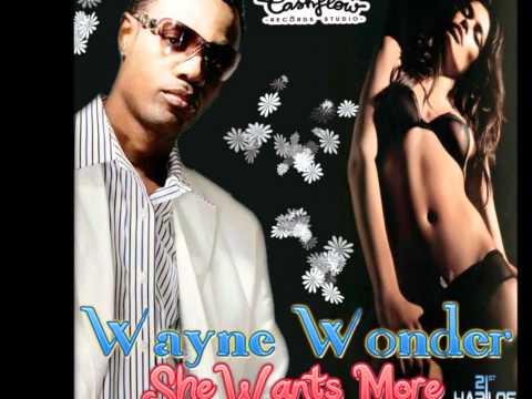 Wayne Wonder - She Wants More (RAW) OCT 2011 [Cashflow Rec]