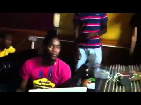 Notnice Records || Khago badmind a guh kill dem in studio part 1