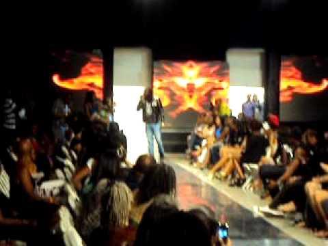 Mavado performs at Caribbean Fashion Week