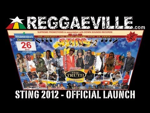 Sting 2012 Poster Presentation @ Official Launch in Kingston, JA 11/28/2012