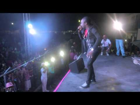 Tiana, Jahvinci, I-Octane and Tommy Lee performing at Kite Fest in western Jamaica
