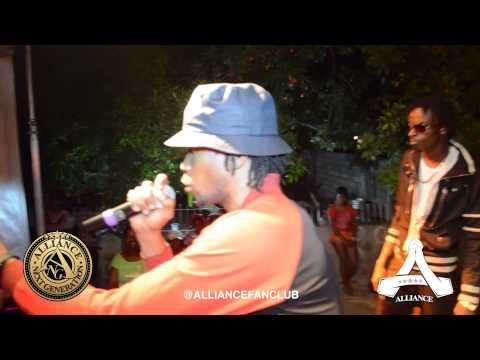 ANG Iyara @ Macsum Ave, Kingston on Jan 5, 2013 (Reggae Release Charity Concert)