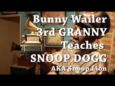 BUNNY WAILER TEACH SNOOP DOGG TO BE A LION