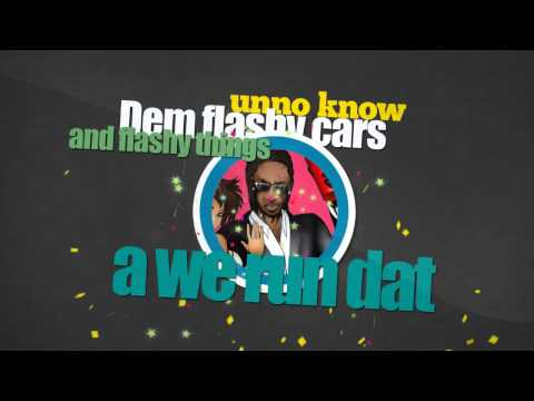 Bounty Killer Ft  Deewaan - Running It Wild | Official HD Lyrics Video | June 2013