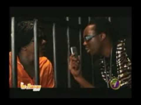 Ity and Fancy Cat - Ninja Man visit Vybz Kartel in Jail