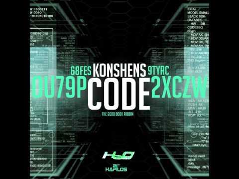 KONSHENS - CODE - GOOD BOOK RIDDIM - H2O RECORDS