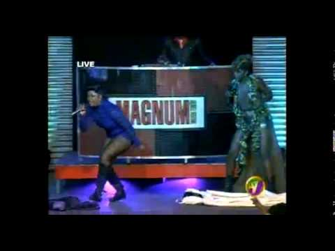 """CANDY K vs SIM SIM"" CLASH - MAGNUM KINGS & QUEENS OF DANCEHALL FINALS 2014"
