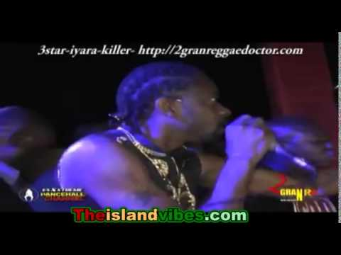 Bounty Killer & Iyara Rushed 3Star While Performing, Then Bounty dissed 3 Star and got booed