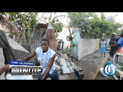 THE GLEANER MINUTE: Cops suspended... Fire in Kingston.... Deadly plane crash