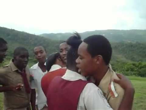 Watch These Jamaican Young Men Serenade Their High School Sweethearts On Graudation Day
