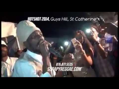 Sizzla Kalonji burning out Alkaline, Gage, selectors, bleaching and bowas [DECEMBER 2014]