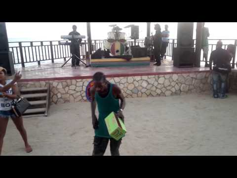Gully Bop ( Country man) Ritz Cafe Negril Jamaica