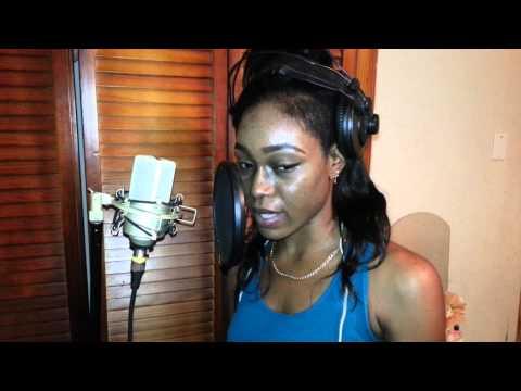Vybz Kartel X keshan - The Goods( viral video) live in studio dub