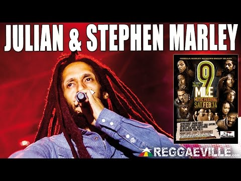 Julian & Stephen Marley - Little Too Late @ 9 Mile Music Festival in Miami, FL [February 14th 2015]