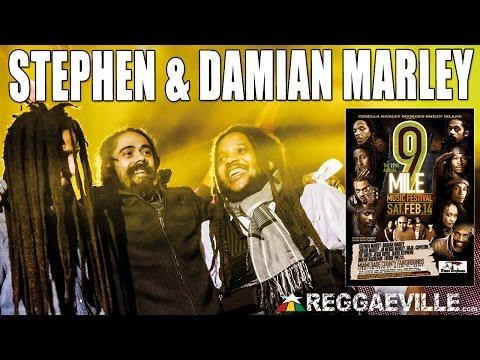 Stephen & Damian Marley - Jah Army @ 9 Mile Music Festival in Miami, FL [February 14th 2015]