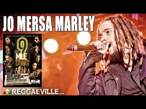 Jo Mersa Marley - Rock and Swing @ 9 Mile Music Festival in Miami, FL [February 14th 2015]