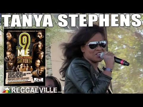 Tanya Stephens - Boom Wuk @9 Mile Music Festival in Miami, FL [February 14th 2015]