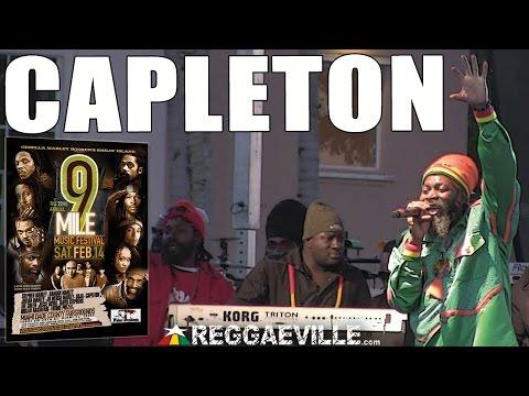 Capleton -  No Guns @9 Mile Music Festival in Miami, FL [February 14th 2015]