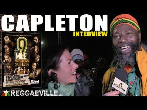 Interview with Capleton @9 Mile Music Festival in Miami, FL [February 14th 2015]