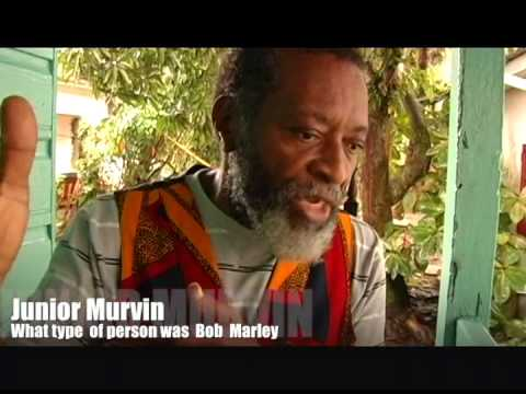 Junior Murvin tells you what type of person Bob Marley was