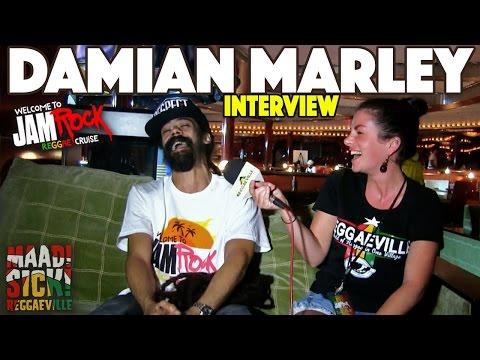 Damian Marley Interview @Welcome To Jamrock Reggae Cruise 2015 #1
