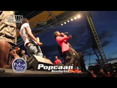 GHETTO SPLASH 2015  Popcaan Aidonia Ishawna & Kranium IN WEST KINGSTON