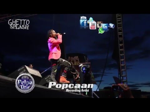 GHETTO SPLASH 2015 \ Popcaan \  IN WEST KINGSTON