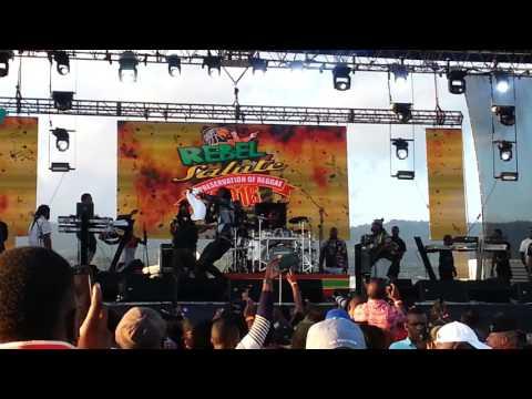 Mavado - Rebel Salute Performance - 2016 @dm21_YouTube