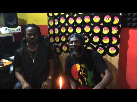 Capleton Exclusive   Fire Blazing Interview by wayne Lonesome  in The Hot Seat