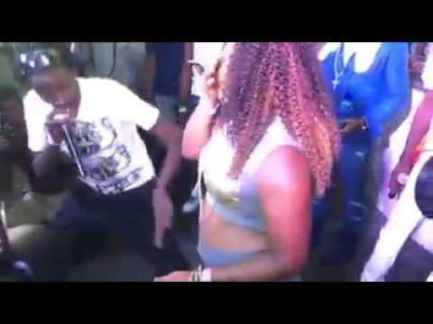 Gully Bop Brings His Secret  Woman on Stage