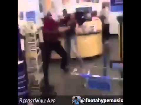 Dancehall star Spice and female fight over man in walmart [It's Not SPICE 'Rumor']