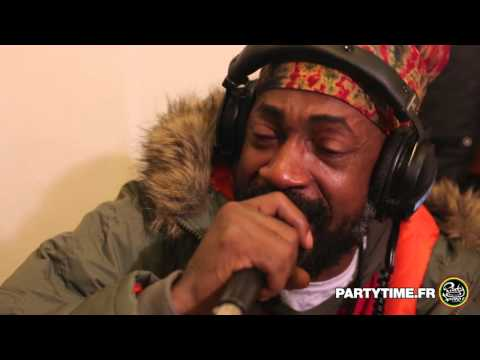 LUTAN FYAH feat ILEMENTS & BRAVE HEART - Freestyle at Party Time radio show - 10 JANV 2015