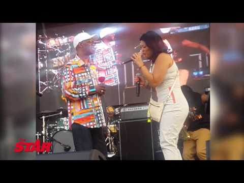 Legendary  Beres Hammond performing at Groovin In The Park 2016
