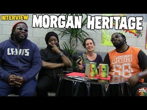 Morgan Heritage - Interview @SummerJam 2016