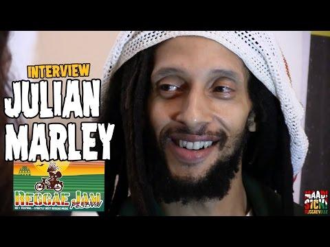 Julian Marley -  Interview @Reggae Jam 2016