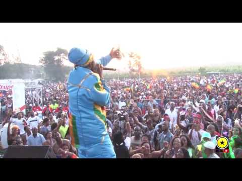 Capleton Shows Who's Boss @ His St Mary Mi Come From
