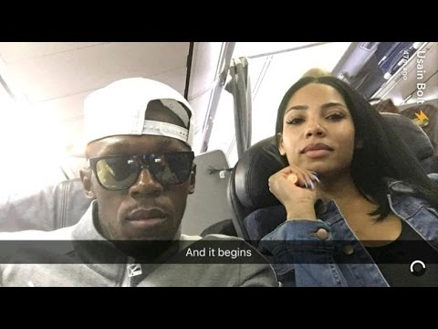 Usain Bolt & Girlfriend, Kasi Still Together - Couple off on Vacation