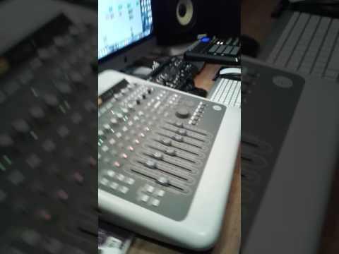Ninja man free style in studio 2016