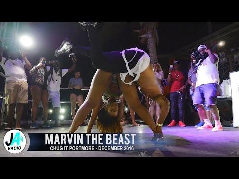 Marvin The Beast Daggering Female Dancers @ Chug It