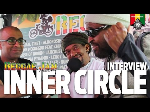 Interview Inner Circle (Ian and Lancelot) at Reggae Jam 2016