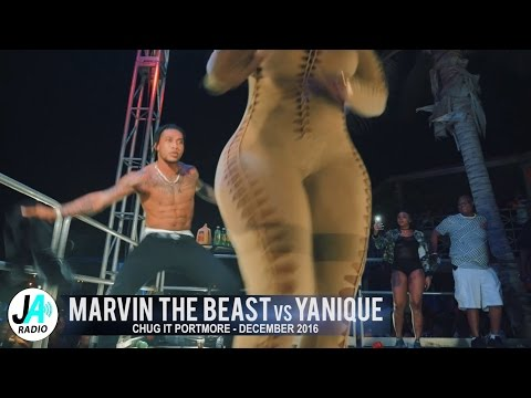 Yanique Takes On Marvin The Beast @ Chug It December 2016