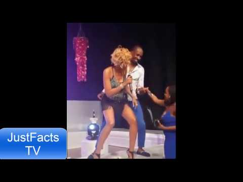 Woman Tek back her man from D'Angel during live performance [Must Watch]