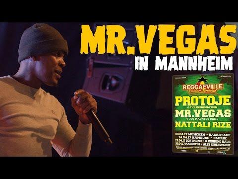 Mr. Vegas in Mannheim, Germany @Reggaeville Easter Special 2017