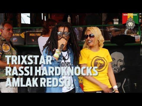 TrixStar, Rassi Hardknocks & Amlak Redsq. at Reggae Jam 2016