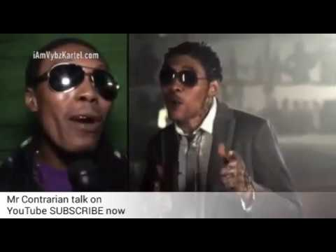 Man look like Vybz Kartel get INTERVIEW + Him freestyle